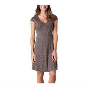 TOAD & CO Falcon Brown Tapestry Rosemarie Dress M